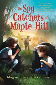 the spy catchers of maple hill cover