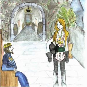 The Tale of the Strange Nobleman meeting the king