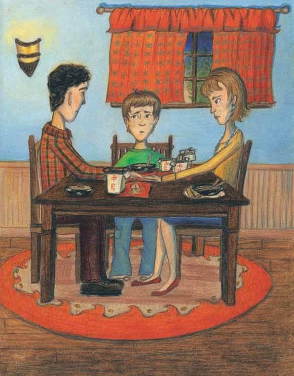 Bad Dinner family talk at dinner