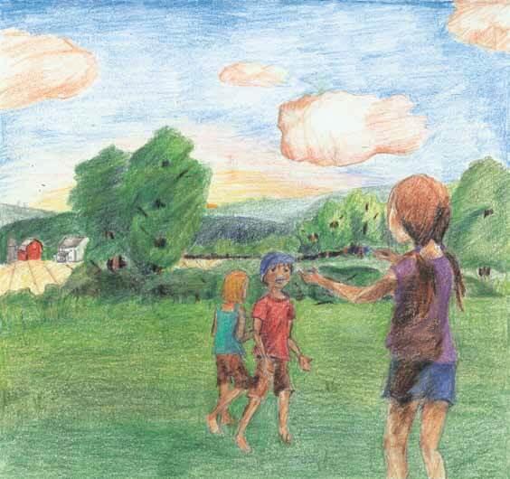 Summer Days children playing