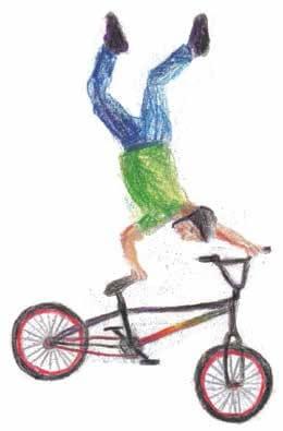 If Money Grew on Trees boy riding a bike