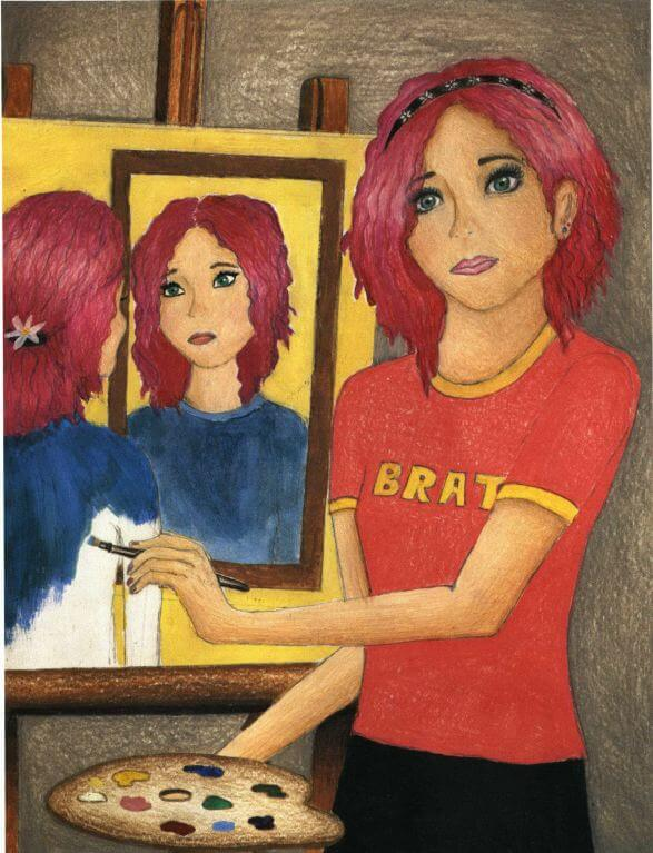 Paintings self portrait