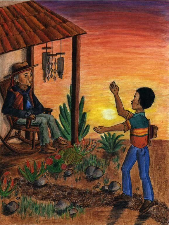 Curandero going to a healer