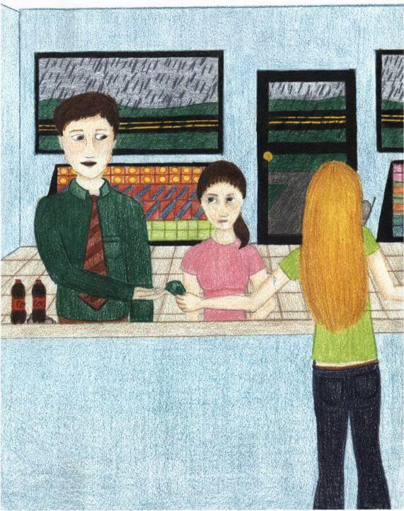 Pennsylvania at the counter