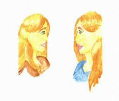 The Journey Begins identical girls