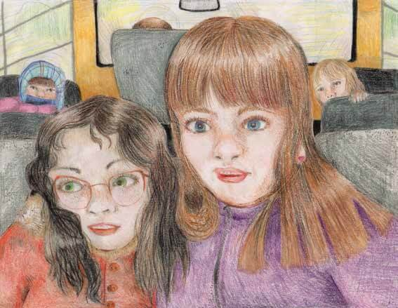 A Different Kind of Brave girls on a bus