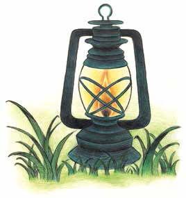 The Shape Stealers light lantern