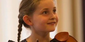 Composer Alma Deutscher, born 20075