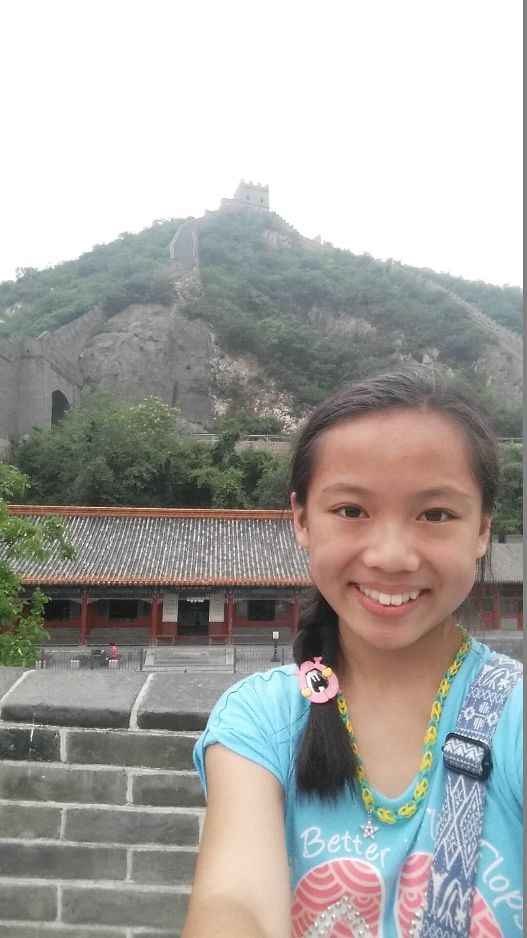 """Victory at the Top of the World"" Catherine Chung, age 12, AL"