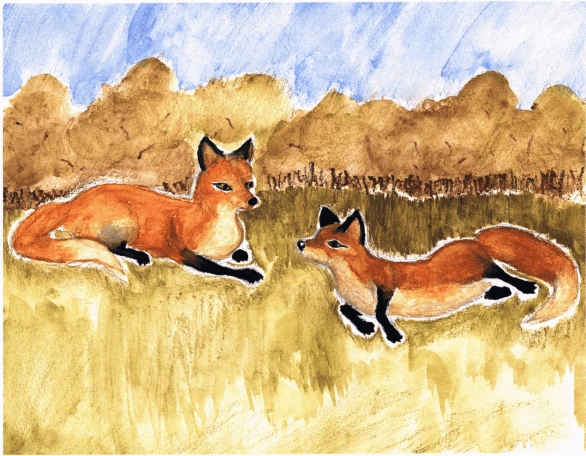 Fort Cuniculus foxes talking