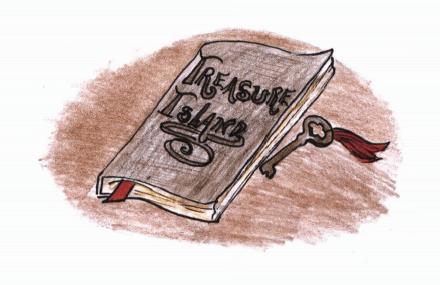 Poseidon book and key