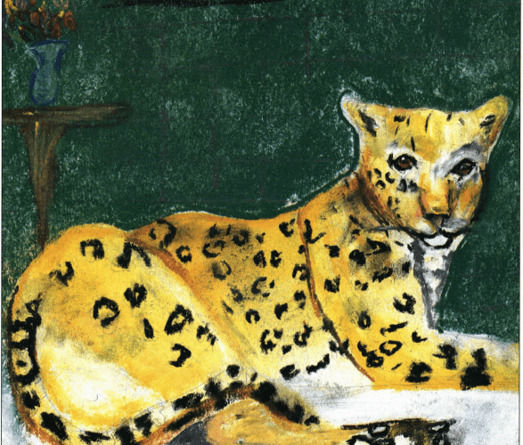 The Clown Who Found a Frown leopard