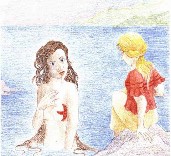 A Window by the Sea meeting a mermaid
