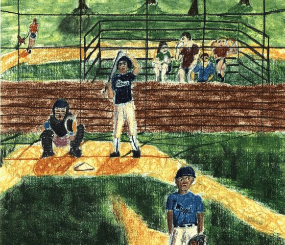 The Moment of Decision playing baseball