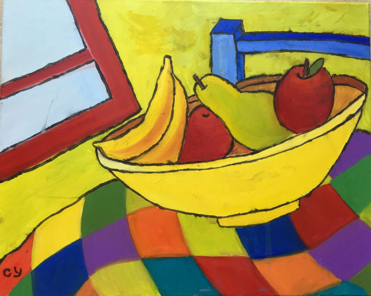 Fruit Bowl Cecilia Yang