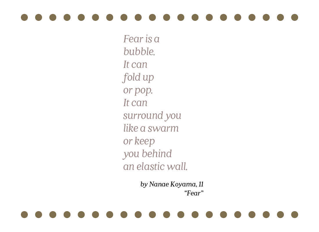 fear text image