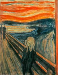 The Scream by Edward Mvnch