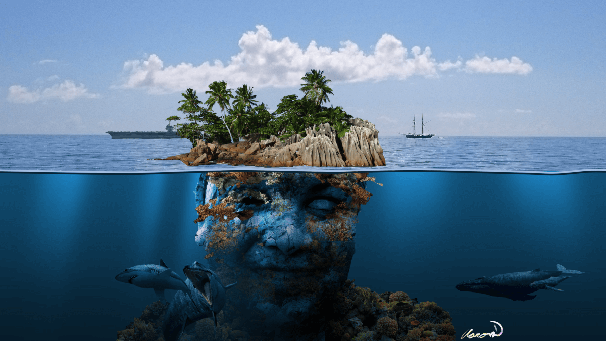 Island Head, an artwork by Aaron D'Souza, 10