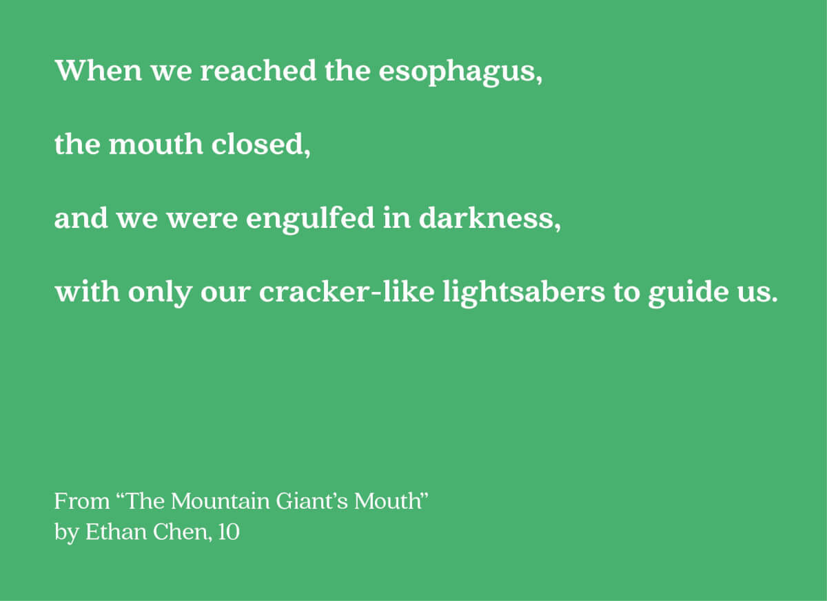 mountain giant mouth