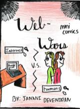 Web Wars comic title page