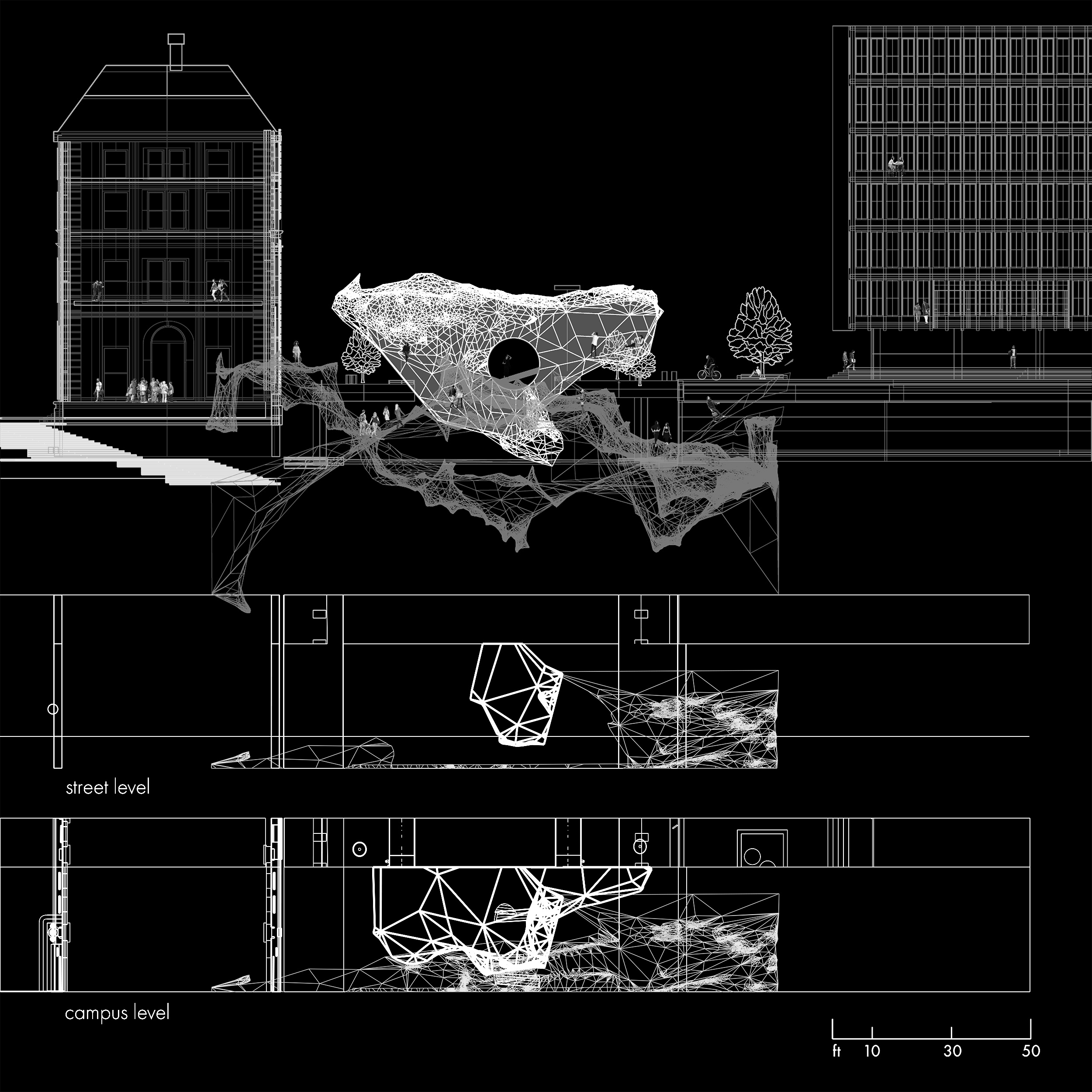 object board render xsection