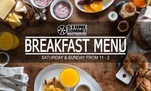 Breakfast at Stone Summit