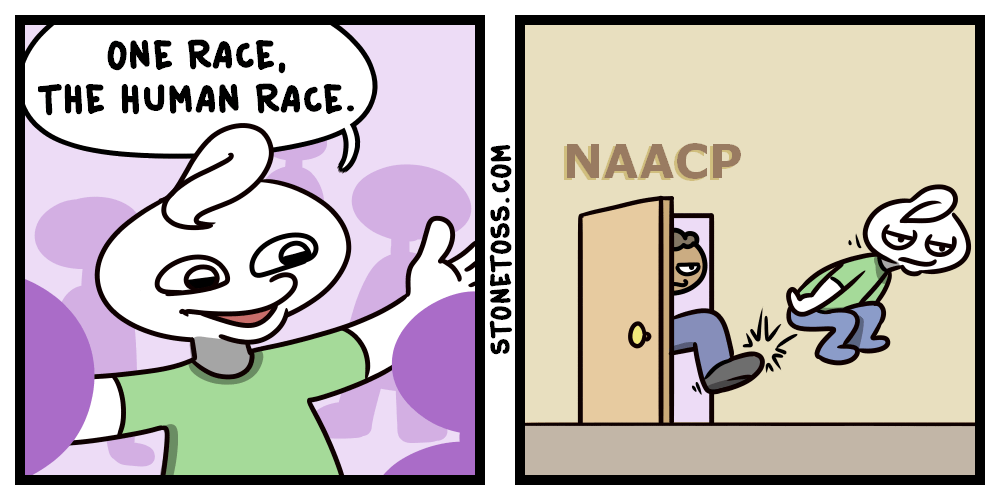 human racial differences comic