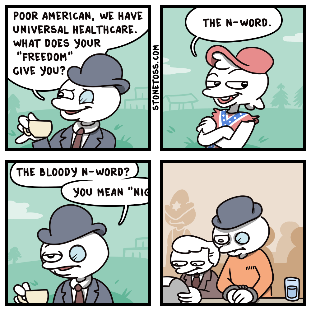 There's a reason why there's never been a European Stonetoss.