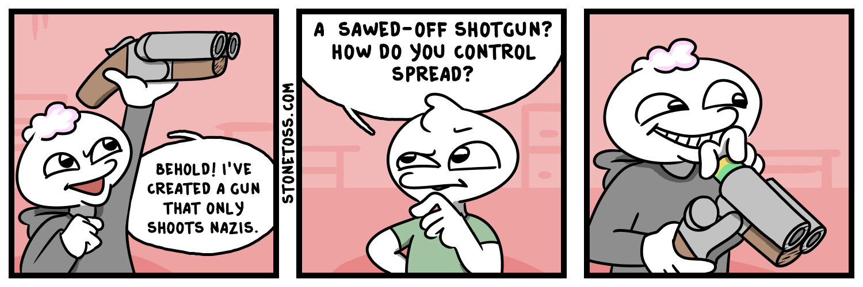 Liberals do need gun control. Liberals.