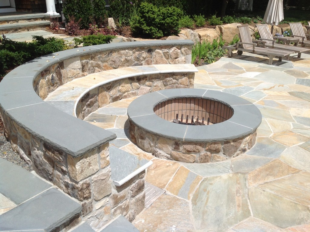 Outdoor Fire Pit Design - New Jersey Stonetown Construction on Fire Pit Design  id=22704