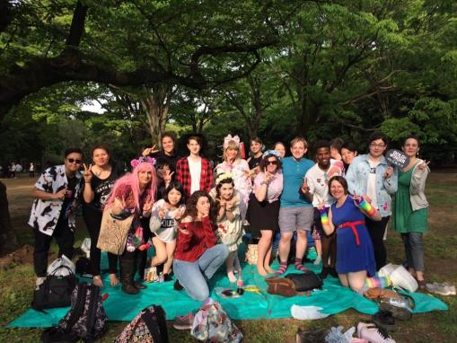 Stonewall Japan Sunday TRP picnic