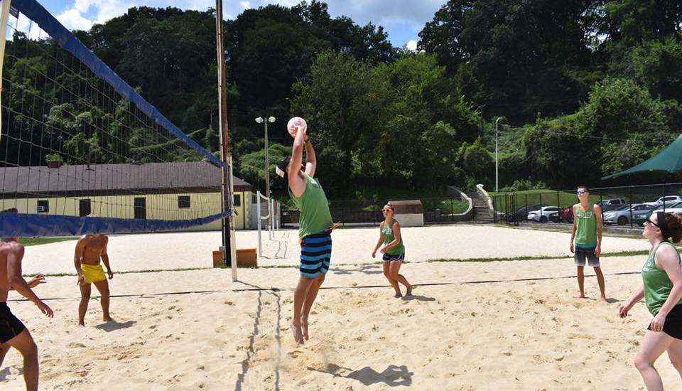 Sand Volleyball League Pittsburgh Setter