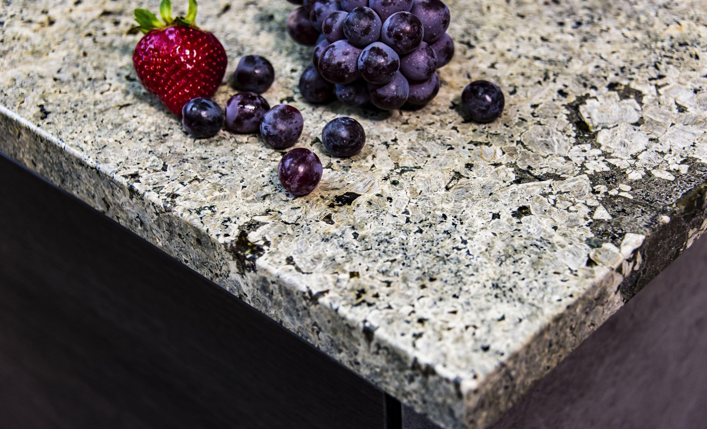 Granite countertop surface