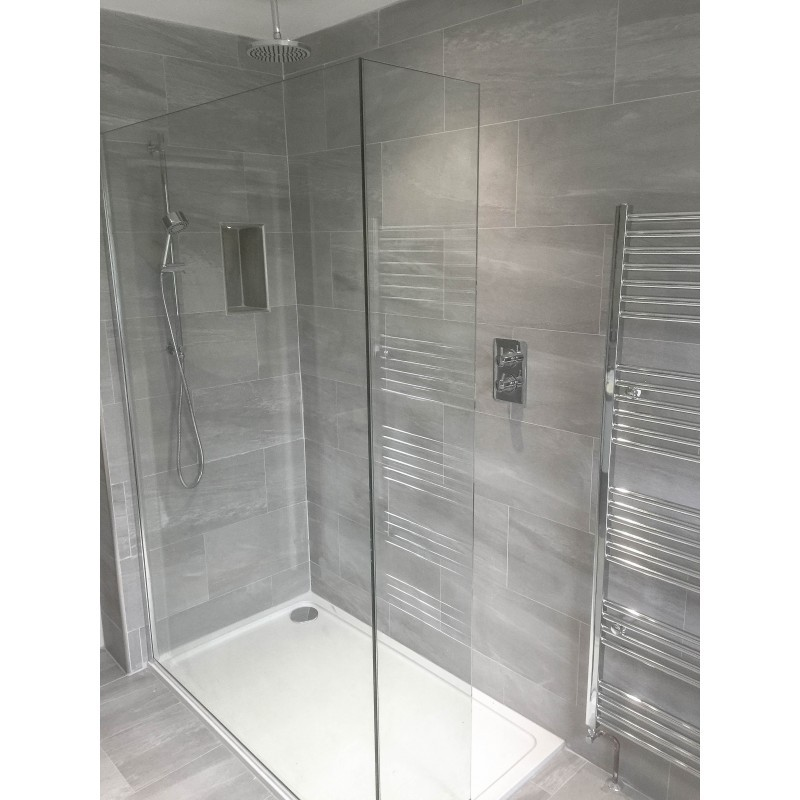 Strata Grey Tiled Bathroom STONEWOOD