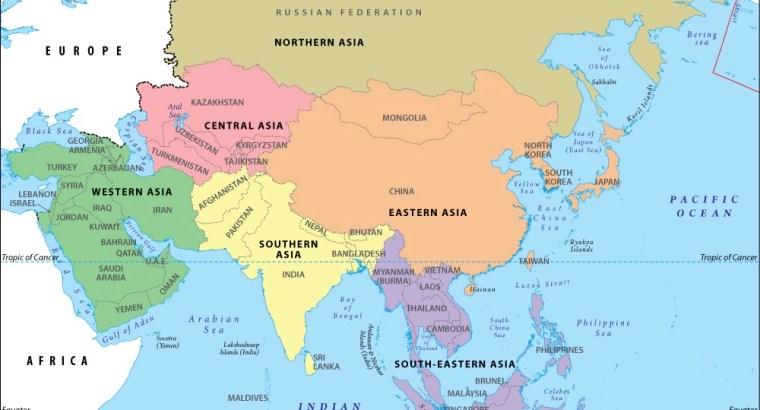 asia-region-map