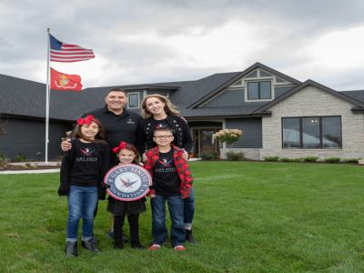 Natural Stone Institute Completes 23rd Home with Gary Sinise Foundation