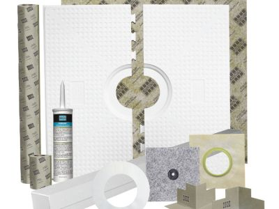 Laticrete Expands Hydro Ban Line with New Shower Pan Kit and Shower Pan