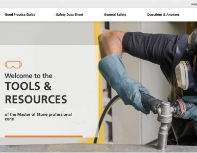 Caesarstone adds website with advice on protecting against silicosis when working engineered quartz