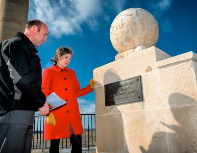 Joint commitment between War Graves Commission and Historic England protects war memorials