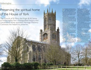 Preserving the spiritual home of the House of York