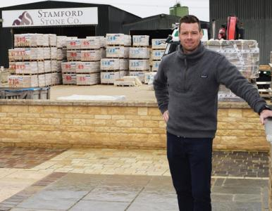 Clipsham limestone any way you want it from Stamford Stone Company
