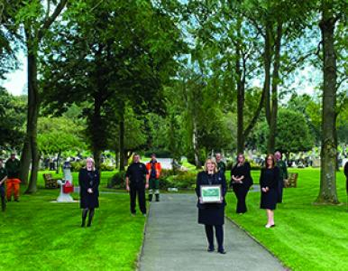 Record entry in the Cemetery of the Year Awards in spite of Covid