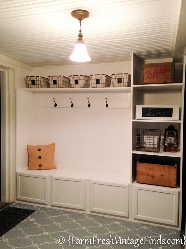 Mudroom DIY