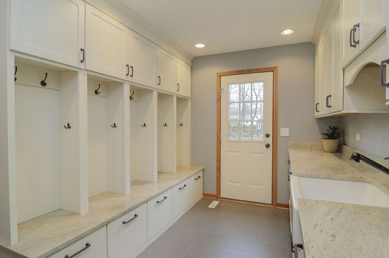 Double mudroom