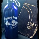 Across the Lake Donor! Stoney Lake Reflections Aluminum Water Bottle