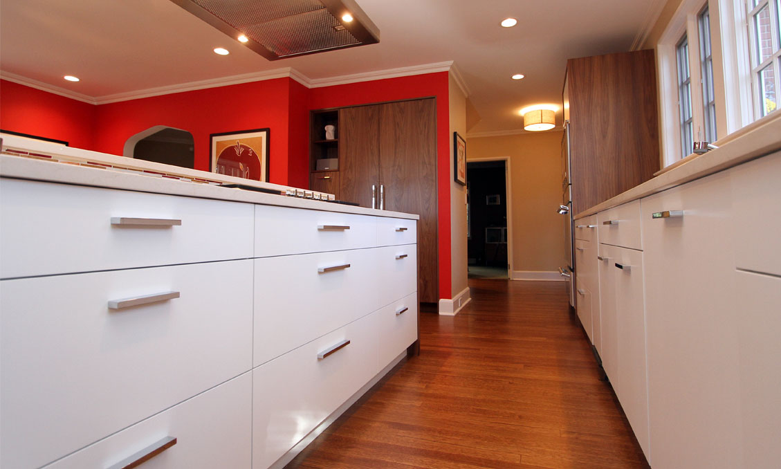 Modern Style Kitchen Cabinetry Collinwood Road