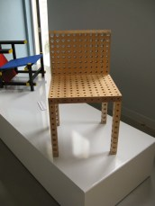 Chair with Holes