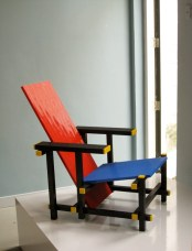 Red Blue Lego Chair