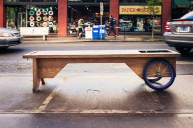 Portland Dog Bike Bench-9885
