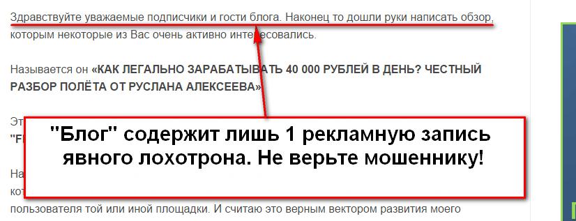 Financial Statement, Financial Statement Generator v.1.0, сайт Info Guard, Руслан Алексеев